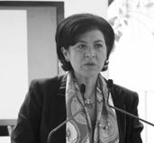Hilda Trujillo, diretora do Museu Frida Kahlo e Diego Rivera-Anahuacalli no México