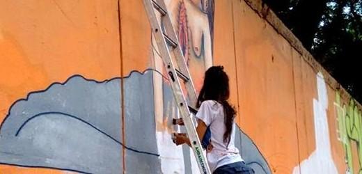 Mag Magrela – grafiteira