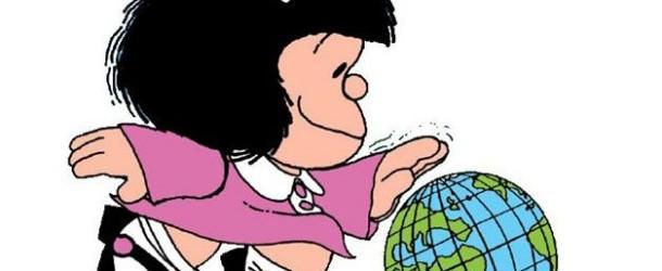 Mafalda completa 50 anos com muita atualidade