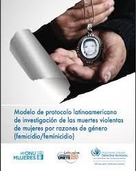 Modelo de protocolo latinoamericano de investigação das mortes violentas de mulheres por razões de gênero de mulheres por razões de gênero (femicídio/feminicídio)