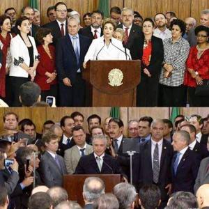 Ministério de Dilma e Temer
